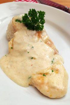 Sajtos-tejszínes csirkemell - GastroHobbi