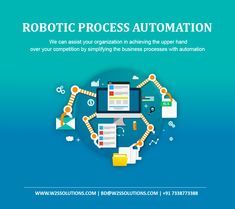 As a leading #RoboticProcessAutomation service provider, W2S Solutions helps you to increase the efficiency in business workflow and enhance the operational tasks that can assist your organization in achieving the upper hand over your competition. Contact #W2SSolutions to simplify your business processes with automation. #RPA #IntelligentAutomation #ArtificialIntelligence #MachineLearning #DigitalTransformation #Technology #AI #ML #IoT #EmergingTechnologies Mobile App Development Companies, Mobile Application Development, Web Application, Software Development, Cloud Data, Enterprise Application, Consulting Companies, Data Analytics, Sustainable Development