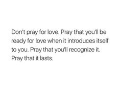 Keep Love in your prayer