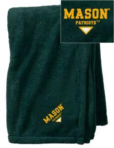 George Mason University Patriots Embroidered Holloway Tailgate Fleece Blanket