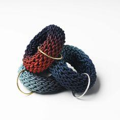 Gilly Langton - Bangles, precious metals & textiles
