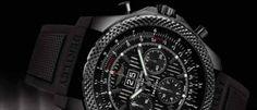 Breitling for Bentley 6.75 Midnight Carbon Este reloj es un homenaje al motor más potente que se monta en las lujosas limusinas Mulsanne, con caja negra.