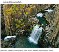 endroits-a-visiter-avant-de-mourir-cascades-litlanesfoss 39 endroits à visiter avant de mourir