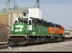 Locomotive BNSF