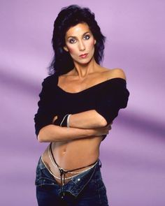 Cher's Wildest Outfits and Fashion Moments Over The Years - Cher Photos and Style Evolution Divas, Beautiful Celebrities, Beautiful People, Cher Photos, Cher Bono, Mon Cheri, Studio Portraits, Photo Sessions, My Idol