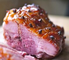 Victoria Glass shares her recipe for a gloriously sticky and delicious marmalade glazed gammon. Christmas Gammon Recipes, Christmas Ham Glaze, Holiday Recipes, Great Recipes, Favorite Recipes, Holiday Meals, Delicious Recipes, Pork Recipes, Cooking Recipes