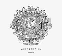 Anna & Marina by Province design-studio , via Behance