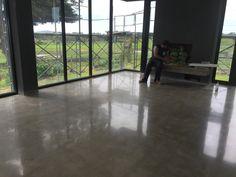 Shining polished concrete looks stunning Polished Concrete, Looking Stunning, Windows, Design, Ramen, Window