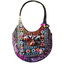 For the love of an ancient handicraft--the Tribal Banjara Shoulder Bag : Pondicherry India Reimagined, Modern Indian Inspired Boutique