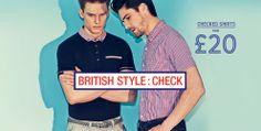 Check Shirts From £20 - British Style: Check