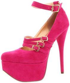 Amazon.com: Luichiny Women's Pam Per Platform Pump: Luichiny: Shoes