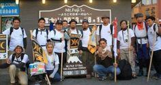 """Pendakian ini merupakan sarana kita untuk saling mempererat kebersamaan."" ujar Endrianto Djajadi selaku Ketua PIP (Pusat Informasi dan Pelayanan) PKS Jepang pada saat membuka kegiatan ini."