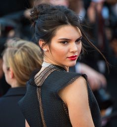 La coiffure de Kendall Jenner