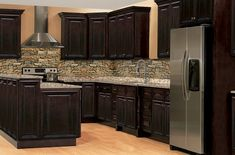 Solid Wood Cabinets is a quality, cheap priced kitchen cabinet company. You can get the highest quality kitchen cabinets at the most affordable prices. Dark Brown Color, Brown Brown, Kitchen Facelift, Quality Cabinets, Brown Bathroom, Dovetail Drawers, Raised Panel, Custom Cabinetry, Wood Boxes