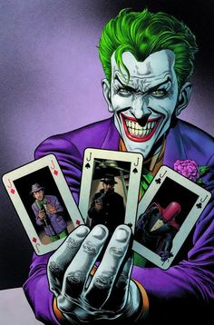 """If I'm going to have a past, I prefer it to be multiple choice"" - The Many Origins of The Joker by Brian Bolland"