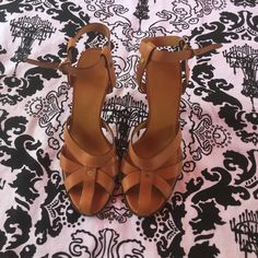 """Burberry heels !! TODAY ONLY !! Used once ,pristine condition no scratches or stains or whatever they are also true to size, the heels are 4"""" very comfortable Burberry Shoes Heels"""