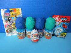 Playdoh Surprise Eggs, Trash Packs, Marvel, Kinder Eggs & More! Trashies, Marvel, Spongebob, Playdoh Eggs