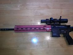 HK Pro Shooting Team's John Rasmussen 3-gun MR556 with custom Geissele rail. - www.Rgrips.com
