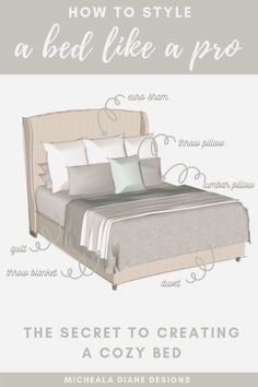 Bedding Master Bedroom, Master Bedroom Makeover, Dream Bedroom, Home Decor Bedroom, Queen Bedding, Budget Bedroom, King Size Bedding, Spare Bedroom Ideas On A Budget, Modern Bedroom