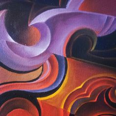 Another piece of the puzzle. #visionaryart #michaeldivine #acrylicpainting #colormyworld #art #mystical #spritualart #beherenow #symbolism #flames #samsara