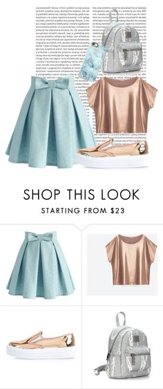 """Untitled #12"" by anetahavlikova on Polyvore featuring Oris, Chicwish, River Island and Casetify"