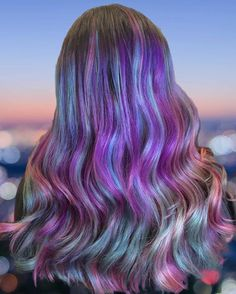 When your hair color is out of this.   Who else is finding themselves obsessed with this #galaxyhair by @jessglam_hair  Don't forget to TAG your color creations with #itsmymia for a chance to be featured!