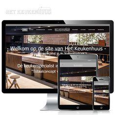 www.hetkeukenhuus.nl - Het Keukenhuus is een gerenommeerde keuken, sanitair en vloeren speciaalzaak. Weppster bouwde een fraaie WordPress pagina waar de meest fraaie keukens gepresenteerd worden.  Volg Weppster ook op: http://www.websitesendomeinnamen.nl/