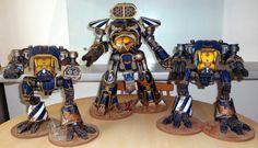 Legio Astorum Reaver and Warhound Titan Battlegroup