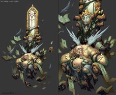 Darksiders 2 - Corrupted Angel Scribe by aecoleman - Avery Coleman - CGHUB via PinCG.com