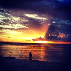 Another pic taken with my iPhone at the Ombak Sunset on the Gili Islands Indonesia