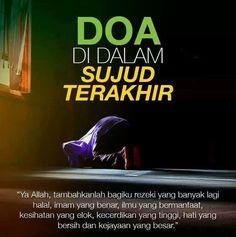 Doa sujud Hijrah Islam, Doa Islam, Islamic Inspirational Quotes, Islamic Quotes, Reading Al Quran, Lost Myself Quotes, Muslim Religion, Learn Islam, Islam Facts