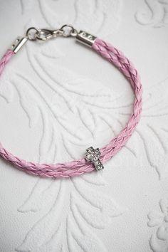 Martyrika witness bracelets braided leather