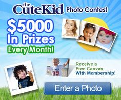 Enter to Win the Cute Kid Photo Contest for FREE to Try to Win $25,000!!