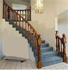 Best Railings For Stairs Another Idea Hooks See Between Rails 400 x 300