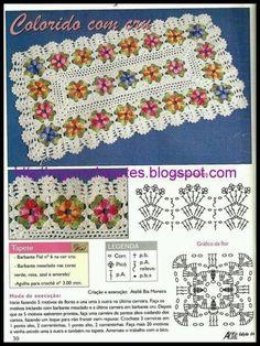 tapete-e-grafico-retangular-florido