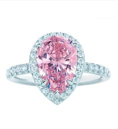 Tiffany & Company Pink diamond ring!