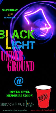 Black Light Party In Photoshop