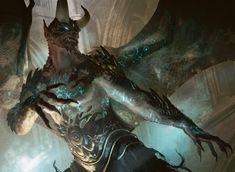Rune-Scarred Demon - Michael Komarck