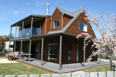 Lake Hawea, Queenstown-Lakes.  4 bedroom. Fenced. $280pn Holiday Accommodation, Lakes, Cabin, Bedroom, House Styles, Outdoor Decor, Home Decor, Decoration Home, Room Decor