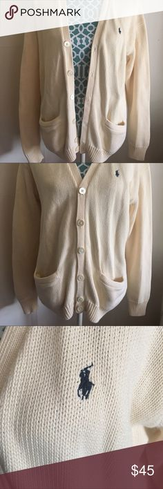 Vintage 90s RALPH LAUREN Polo Sport Cardigan 🐎 Retro Polo. Runs as a true M. Perfect condition. Worn once. Super cozy. A great classic essential piece for the fall 🍁 Polo by Ralph Lauren Sweaters Cardigans