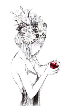 「花ヘッドホン」/「爽々」のイラスト [pixiv]