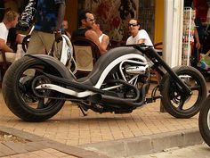 Buell chopper done right
