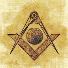 'Freemason Symbolism' by SerpentFilms Canvas Prints, Framed Prints, Art Prints, Freemason Symbol, Masonic Art, Aleister Crowley, Deathly Hallows Tattoo, Art Boards, Wall Tapestry