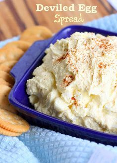 Deviled Egg Spread | The Girl Who Ate Everything