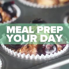 8 Recipes To Meal Prep Your Day // #mealprep #breakfast #lunch #dinner #healthy #healthyeating #goodful