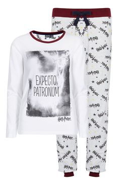 Primark - Harry Potter Patronum PJ Set