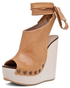 Love these Chloe wrap around wedges