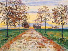 Ferdinand Hodler Autumn Evening ca. 1892-1893