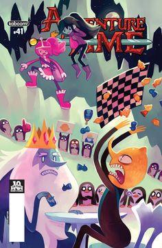 Preview: Adventure Time #41, Adventure Time #41 Story: Christopher Hastings Art: Zachary Sterling Covers: Jake Wyatt & Melanie Herring Publisher: BOOM! Studios/ KaBOOM..., #AdventureTime #All-Comic #All-ComicPreviews #Boom!Studios #ChristopherHastings #Comics #JakeWyatt #kaboom! #MelanieHerring #Previews #ZacharySterling