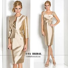 4a371d7312 Gorgeous Mother Of The Bride Dresses With Free Jacket Wedding Formal Gowns  2017